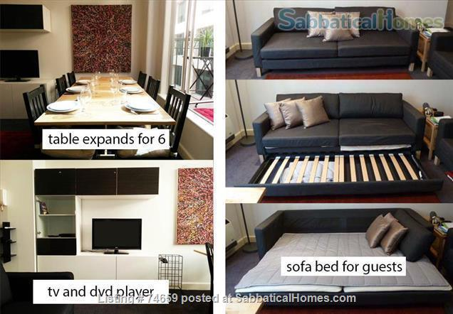 Melbourne City:   Fully furnished Art Deco apartment (Excellent reviews) Home Rental in Melbourne, VIC, Australia 8