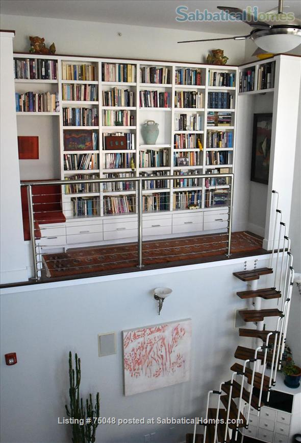 Stunning Cambridge loft filled with books, lots of light Home Rental in Cambridge 0 - thumbnail