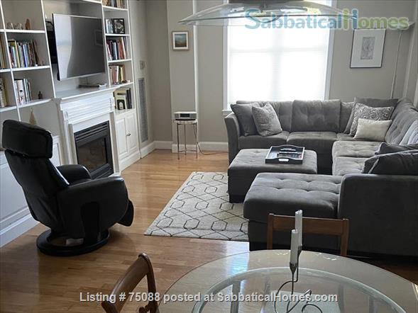 Elegant, furnished one bedroom condo in Charlestown (with indoor parking) within walking distance of MGH, MIT, Harbor Ferry, The Freedom Trail, the North End, Bunker Hill Monument, and everything Boston has to offer. Home Rental in Boston, Massachusetts, United States 1