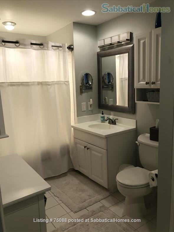 Elegant, furnished one bedroom condo in Charlestown (with indoor parking) within walking distance of MGH, MIT, Harbor Ferry, The Freedom Trail, the North End, Bunker Hill Monument, and everything Boston has to offer. Home Rental in Boston, Massachusetts, United States 6