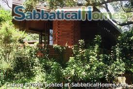 Frank Lloyd Wright house near Stanford, Silicon Valley, SF, and Berkeley Home Rental in Hillsborough 7