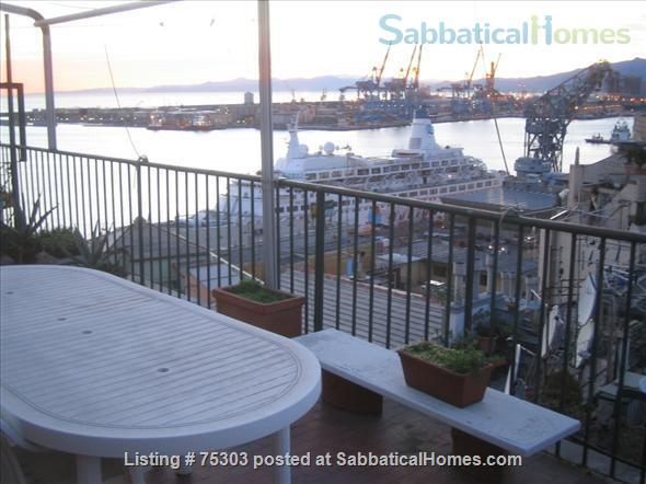 apartment furnished with terrace in the historical center in Genoa (Italy).  Home Rental in Genova, Liguria, Italy 0
