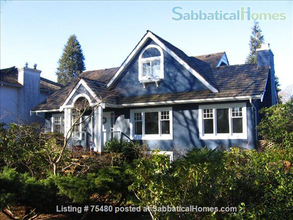 Executive Home in Central Location; Near UBC, downtown Vancouver and Vancouver Airport Home Exchange in Vancouver, British Columbia, Canada 1