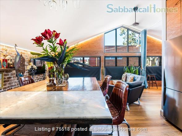 Warehouse Style Loft Apartment 1 Bed , 1 Bath, 1 Carspace - East Redfern Home Rental in Redfern, NSW, Australia 1