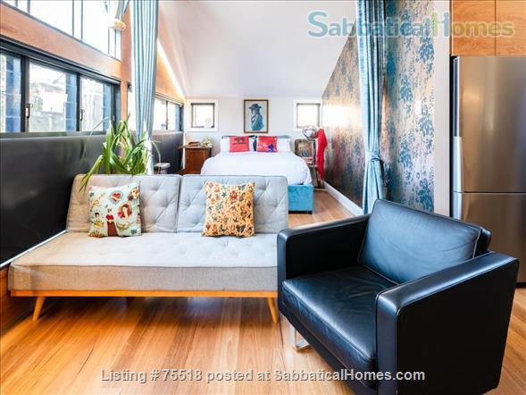 Warehouse Style Loft Apartment 1 Bed , 1 Bath, 1 Carspace - East Redfern Home Rental in Redfern, NSW, Australia 2