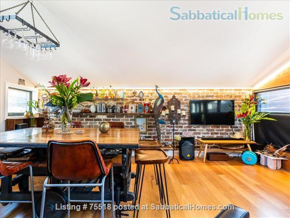 Warehouse Style Loft Apartment 1 Bed , 1 Bath, 1 Carspace - East Redfern Home Rental in Redfern, NSW, Australia 4