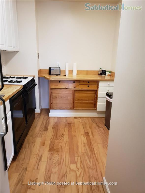 A large alcove studio (more than 600 sq ft) apartment on 5th Floor completely furnished Home Rental in Bethesda, Maryland, United States 5
