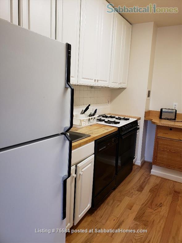 A large alcove studio (more than 600 sq ft) apartment on 5th Floor completely furnished Home Rental in Bethesda, Maryland, United States 6