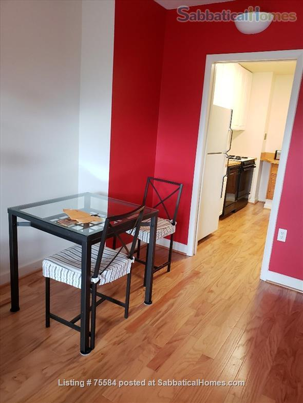 A large alcove studio (more than 600 sq ft) apartment on 5th Floor completely furnished Home Rental in Bethesda, Maryland, United States 8