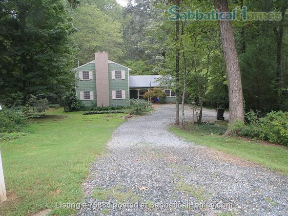 RENTED thru MAY 2022 1BR COZY FURNISHED IN-LAW APARTMENT 1 ACRE HISTORIC Home Rental in Chapel Hill, North Carolina, United States 0