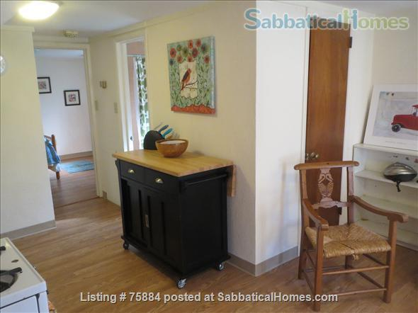 RENTED thru MAY 2022 1BR COZY FURNISHED IN-LAW APARTMENT 1 ACRE HISTORIC Home Rental in Chapel Hill 2