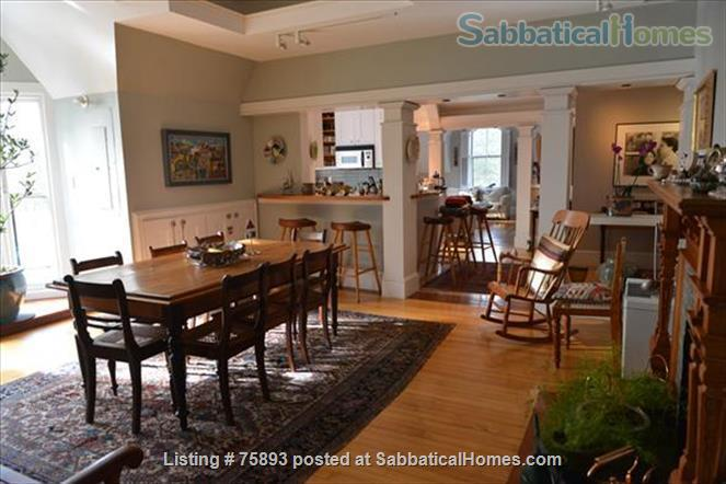 Contemporary, light-filled, 2.5 bdrm luxury furnished apartment on  4  Acre Estate Home Rental in Newton, Massachusetts, United States 0