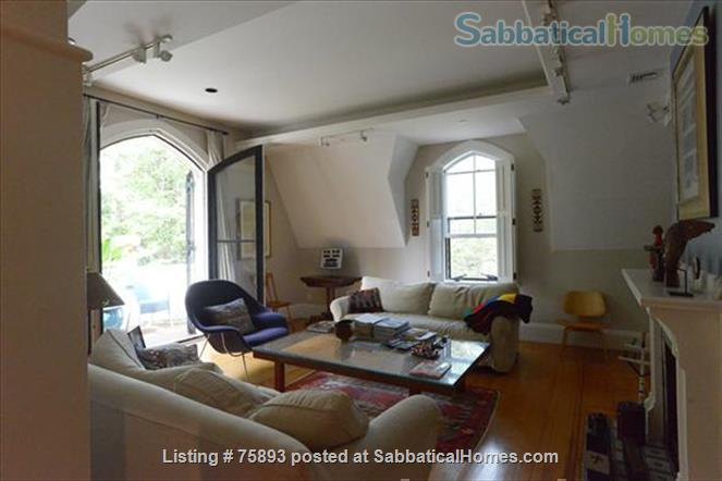 Contemporary, light-filled, 2.5 bdrm luxury furnished apartment on  4  Acre Estate Home Rental in Newton, Massachusetts, United States 4