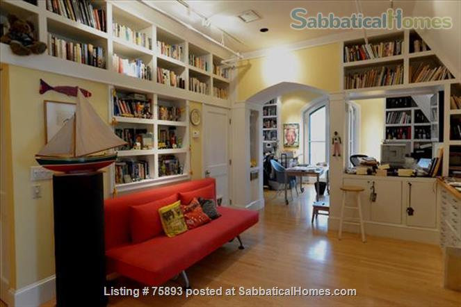 Contemporary, light-filled, 2.5 bdrm luxury furnished apartment on  4  Acre Estate Home Rental in Newton, Massachusetts, United States 7