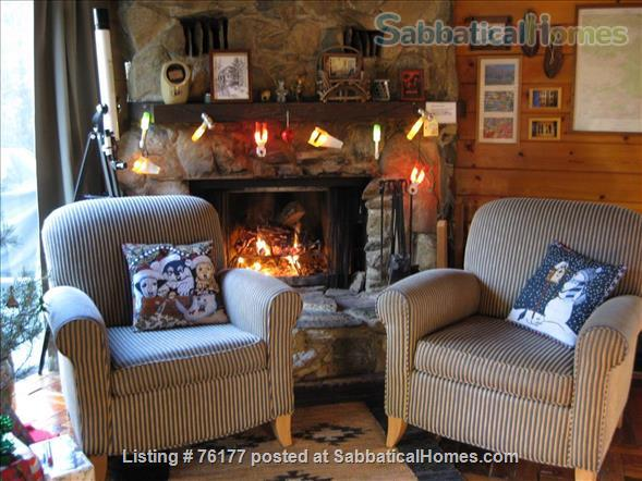Cozy Rustic Mountain Cabin 1.5 hours from Los Angeles Home Rental in Frazier Park 9