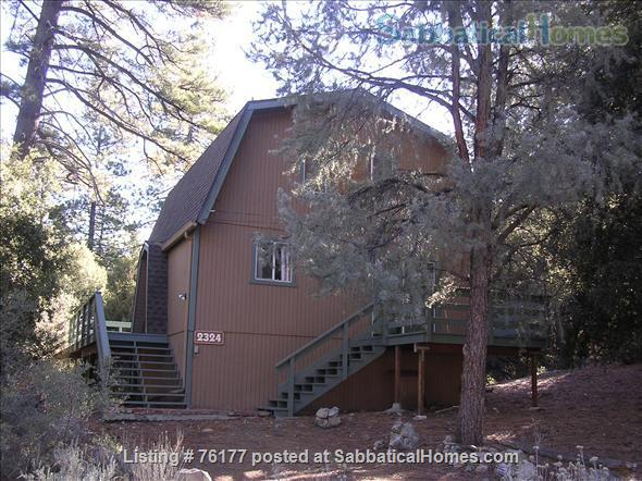 Cozy Rustic Mountain Cabin 1.5 hours from Los Angeles Home Rental in Frazier Park 0