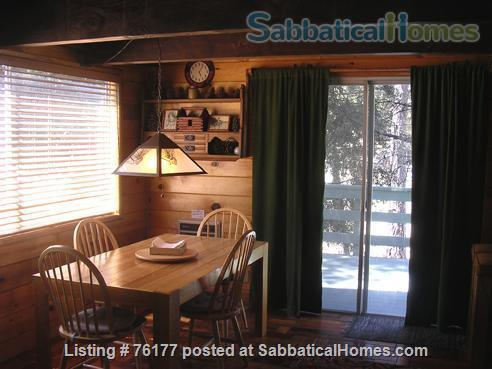 Cozy Rustic Mountain Cabin 1.5 hours from Los Angeles Home Rental in Frazier Park 3