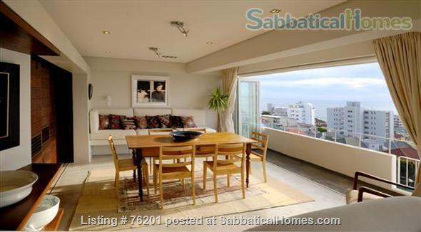 Sunny, ocean view  apartment in premier wind-free, secure residential area Home Rental in Cape Town, Western Cape, South Africa 1