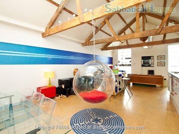 Large light-filled house, London - great for children Home Rental in London, England, United Kingdom 1