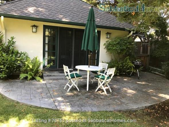 Furnished 1 bd/1 ba Cottage in Menlo Park near Stanford University Home Rental in Menlo Park, California, United States 9