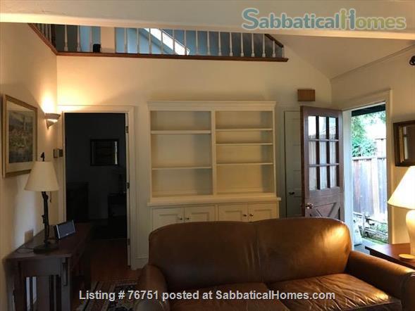 Furnished 1 bd/1 ba Cottage in Menlo Park near Stanford University Home Rental in Menlo Park, California, United States 0