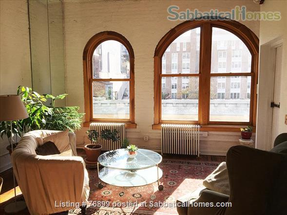 Sunny Chelsea loft, spacious top flr; 2 lvg rms. Optional:STEINWAY-M4extra$ Home Rental in New York, New York, United States 1