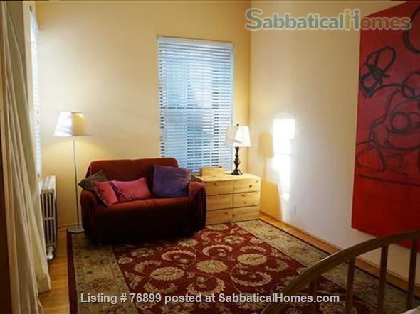 Sunny Chelsea loft, spacious top flr; 2 lvg rms. Optional:STEINWAY-M4extra$ Home Rental in New York, New York, United States 5