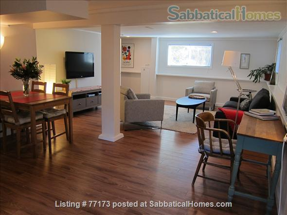 Fully  furnished  one bedroom suite. Close to UBC, amenities, transportation, downtown. Home Rental in Vancouver, British Columbia, Canada 1