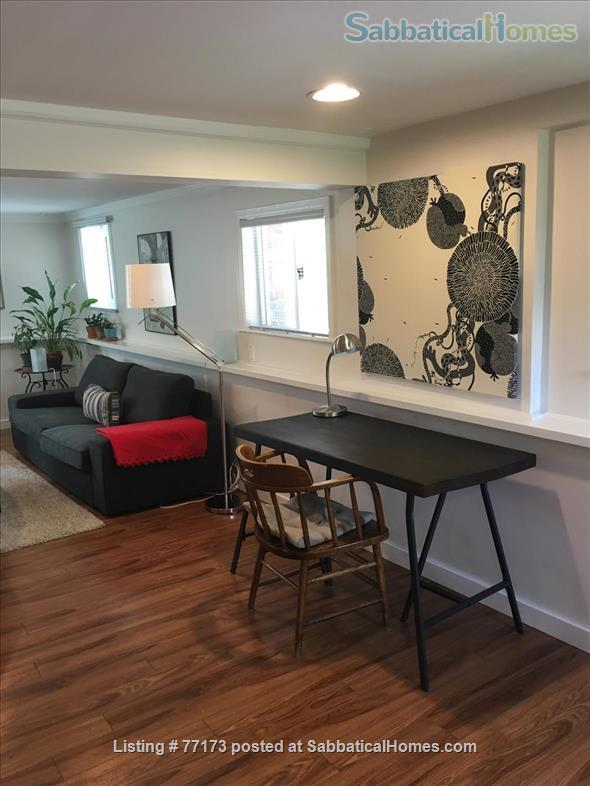 Fully  furnished  one bedroom suite. Close to UBC, amenities, transportation, downtown. Home Rental in Vancouver, British Columbia, Canada 0