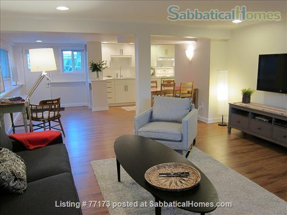 Fully  furnished  one bedroom suite. Close to UBC, amenities, transportation, downtown. Home Rental in Vancouver, British Columbia, Canada 2