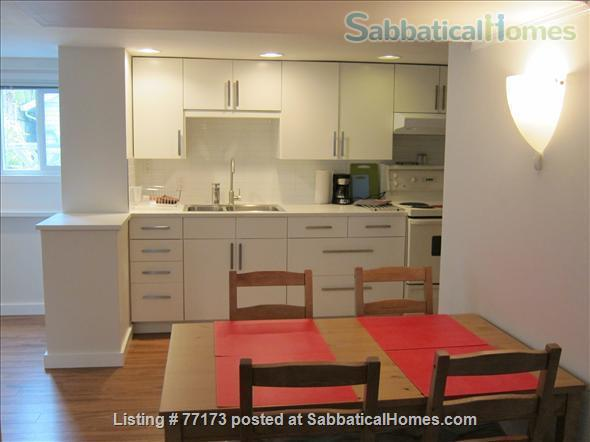 Fully  furnished  one bedroom suite. Close to UBC, amenities, transportation, downtown. Home Rental in Vancouver, British Columbia, Canada 3