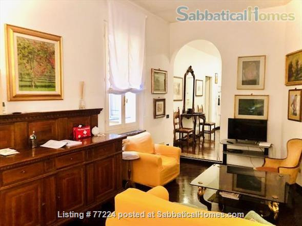 Prestigious flat in Santo Stefano,  Bologna.   Quiet, 3 Wi-Fi workstations. Home Rental in Bologna 1