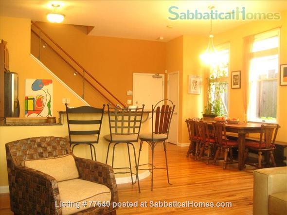 Spacious Midtown townhome near Georgia Tech Home Rental in Atlanta, Georgia, United States 1