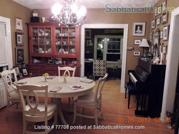 Walk one block to Penn State campus from College Heights furnished home Home Rental in State College, Pennsylvania, United States 5