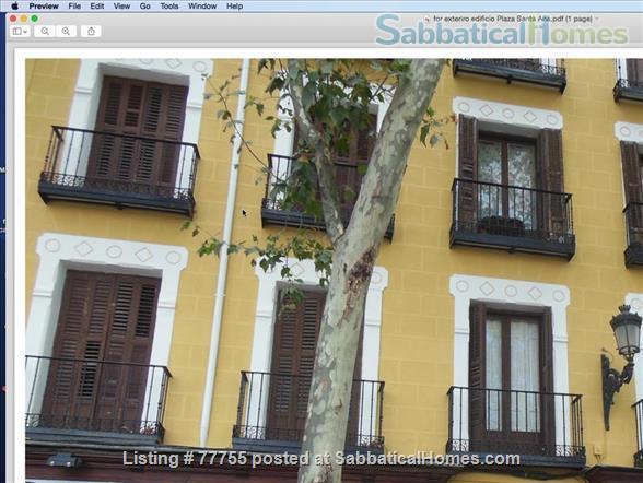 Madrid, Plaza de Santa Ana, España Home Rental in Madrid, Comunidad de Madrid, Spain 9
