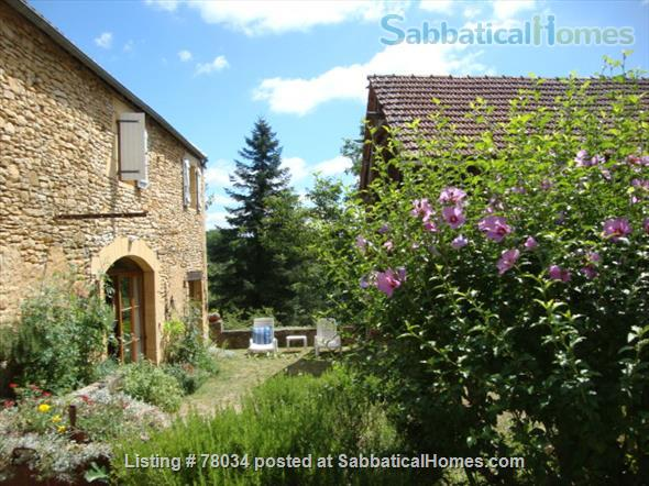 La Vieille Grange offers family accommodation in a converted stone barn in a pretty hamlet, Dordogne Valley  Home Rental in Masclat, Midi-Pyrénées, France 1