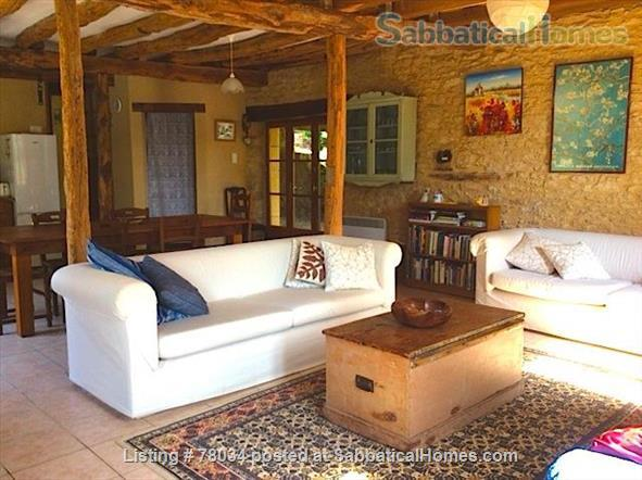 La Vieille Grange offers family accommodation in a converted stone barn in a pretty hamlet, Dordogne Valley  Home Rental in Masclat, Midi-Pyrénées, France 2