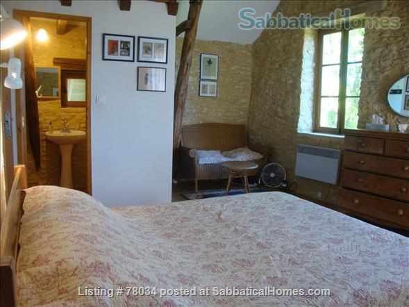 La Vieille Grange offers family accommodation in a converted stone barn in a pretty hamlet, Dordogne Valley  Home Rental in Masclat, Midi-Pyrénées, France 4
