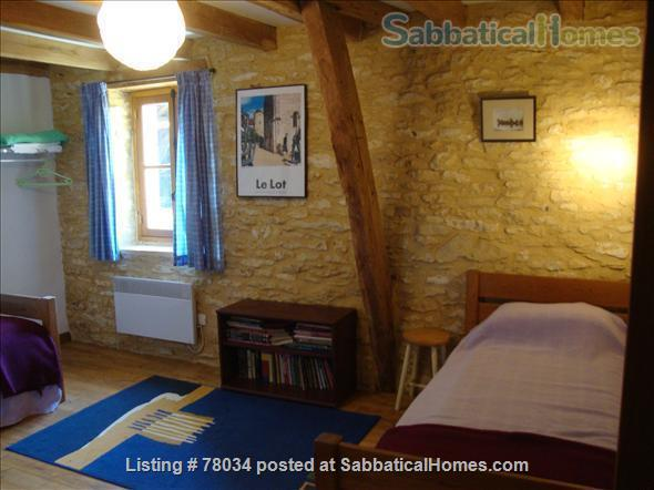 La Vieille Grange offers family accommodation in a converted stone barn in a pretty hamlet, Dordogne Valley  Home Rental in Masclat, Midi-Pyrénées, France 6