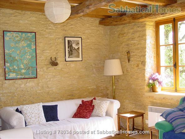 La Vieille Grange offers family accommodation in a converted stone barn in a pretty hamlet, Dordogne Valley  Home Rental in Masclat, Midi-Pyrénées, France 3
