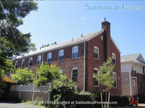 FURNISHED, one-of-a-kind 3BDR home in Inman Sq. with GARAGE and GARDEN Home Rental in Cambridge, Massachusetts, United States 1