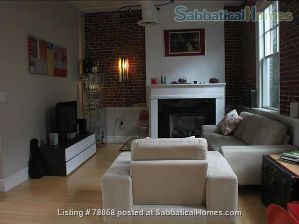 FURNISHED, one-of-a-kind 3BDR home in Inman Sq. with GARAGE and GARDEN Home Rental in Cambridge, Massachusetts, United States 0