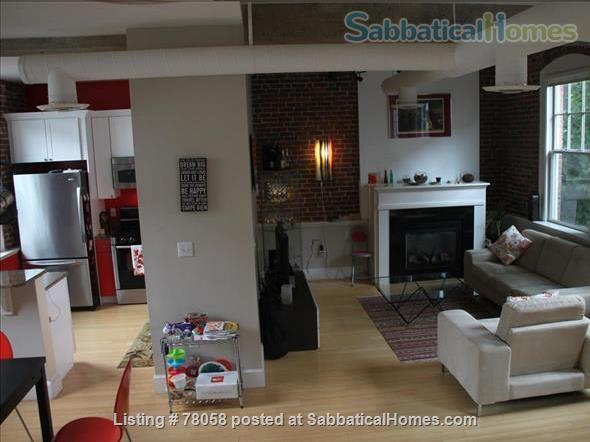 FURNISHED, one-of-a-kind 3BDR home in Inman Sq. with GARAGE and GARDEN Home Rental in Cambridge, Massachusetts, United States 2