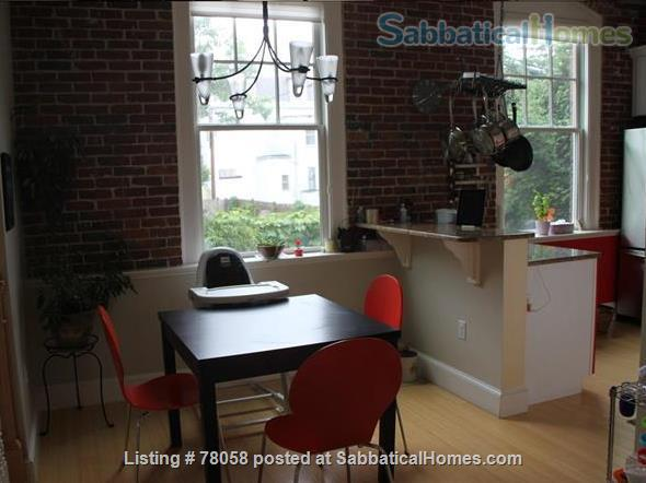 FURNISHED, one-of-a-kind 3BDR home in Inman Sq. with GARAGE and GARDEN Home Rental in Cambridge, Massachusetts, United States 3