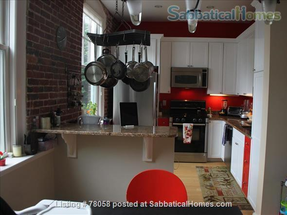 FURNISHED, one-of-a-kind 3BDR home in Inman Sq. with GARAGE and GARDEN Home Rental in Cambridge, Massachusetts, United States 4