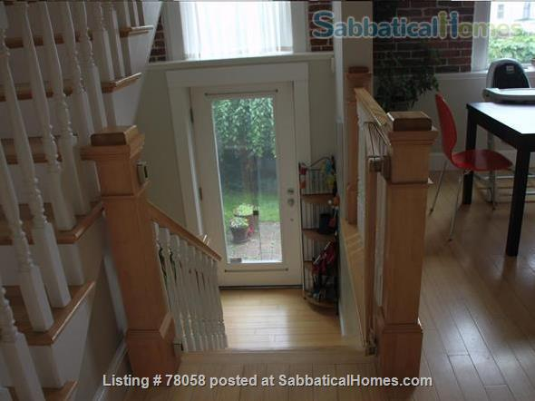 FURNISHED, one-of-a-kind 3BDR home in Inman Sq. with GARAGE and GARDEN Home Rental in Cambridge, Massachusetts, United States 6