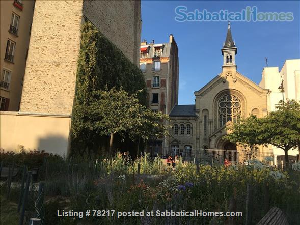 Charming room in lively area of Paris close to Bastille Home Rental in Paris 9