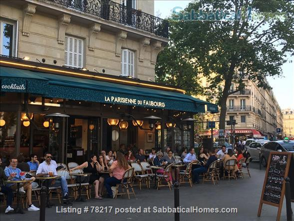Charming room in lively area of Paris close to Bastille Home Rental in Paris 8