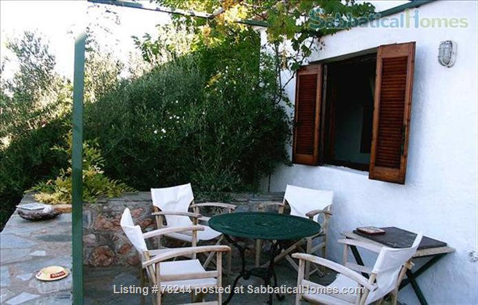 Peloponnese, cottage,  8' by foot from sandy beach, translucid water, panoramic view on see Home Rental in Lefktro, , Greece 9
