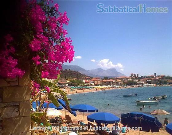 Peloponnese, cottage,  8' by foot from sandy beach, translucid water, panoramic view on see Home Rental in Lefktro, , Greece 3
